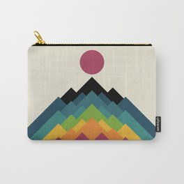 Life Is A Mountain Carry-All Pouch