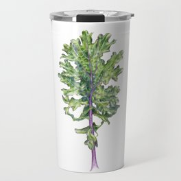 Red Russian Kale Travel Mug