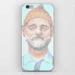 The Aquatic Steve Zissou iPhone Skin
