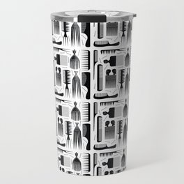Comb Through Pattern Travel Mug