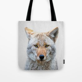 Coyote - Colorful Tote Bag