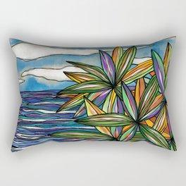 Bargara Beachscape Rectangular Pillow