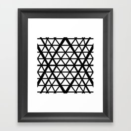 Bounds and Binds Framed Art Print