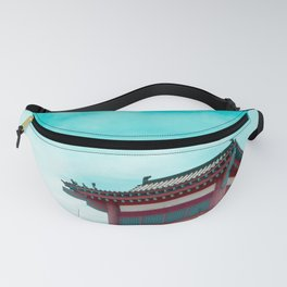 Travel photography Chinatown Los Angeles IV Temple Fanny Pack
