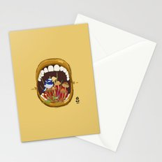 Untitled Mouth  Stationery Cards