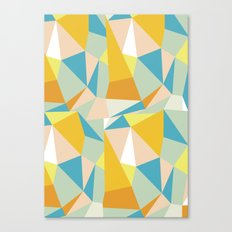 Triangular spectrum Canvas Print