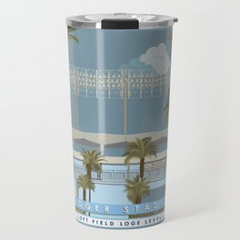Dodger Stadium Gates View Travel Mug