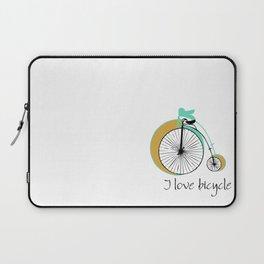 I love bicycle Laptop Sleeve