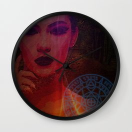 Dark Lady of the Forest of the Damned Wall Clock