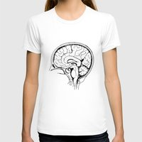 brain T-shirts featuring Brain by Etiquette