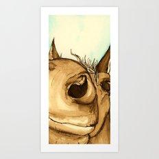 How nosey! Art Print