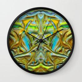 liquid no4 Wall Clock