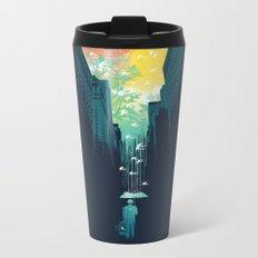 I Want My Blue Sky Metal Travel Mug