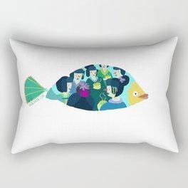 Geishas at sea Rectangular Pillow