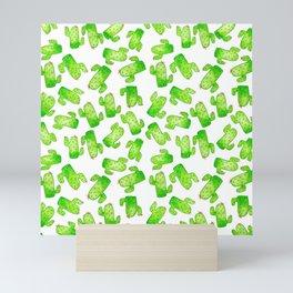 Watercolor Cacti Mini Art Print