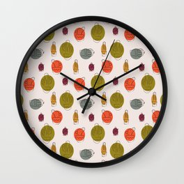 Mid Century Modern Cactus Wall Clock