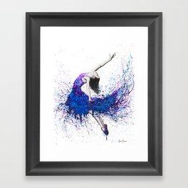 Evening Sky Dancer Framed Art Print