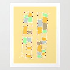Indoor Constellation  Art Print