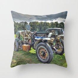 La France Speedster Throw Pillow
