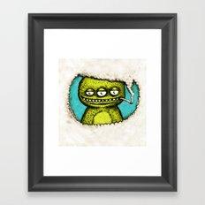 3Eye Framed Art Print