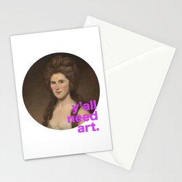 Peale1_YallNeedArt Stationery Cards