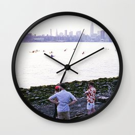 Williamsburg, Brooklyn. Wall Clock