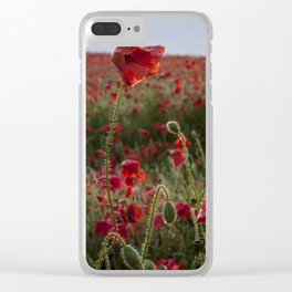 Rise above the rest Clear iPhone Case