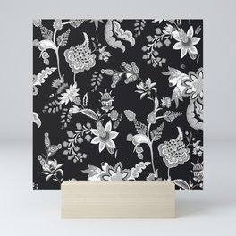 Black Onyx Chinoiserie Mini Art Print