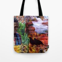 southwest Tote Bags featuring Southwest by ArtbyJudi