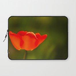La tulipe orange Laptop Sleeve