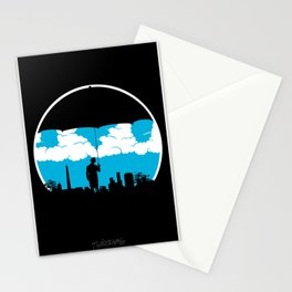 Umbrella Man Stationery Cards