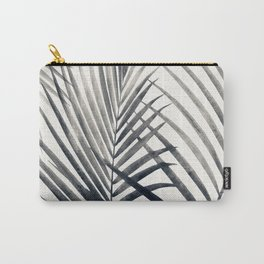 Black and White Palms Carry-All Pouch