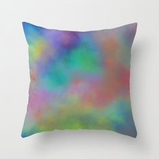 Fading Time Throw Pillow