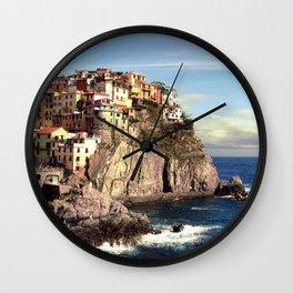 manarola, cinque terre. Wall Clock
