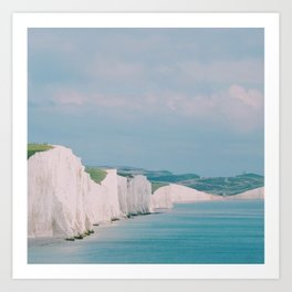 Beachy Head, UK Art Print