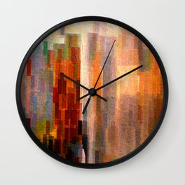 Binnenalster with fountain Wall Clock
