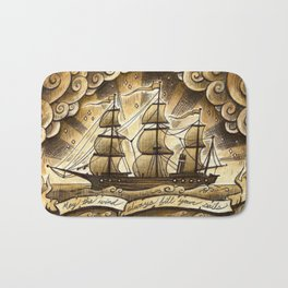 Sailing Winds Bath Mat