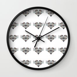 Amplification of the Heart Wall Clock