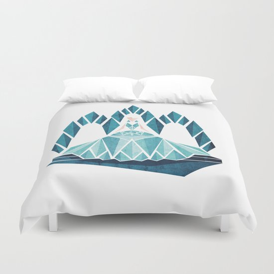 Waiting ( The Snow Queen ) Duvet Cover