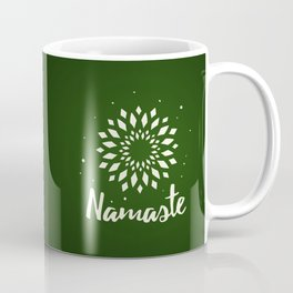Namaste Mandala Flower Power Coffee Mug