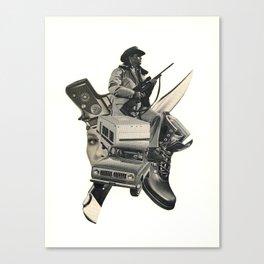 Tracker! Canvas Print