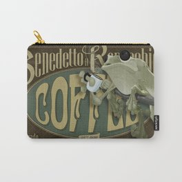 Frog & Coffee by Paulo Coruja Carry-All Pouch