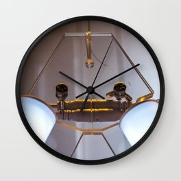 Fascinated By Light (b) Wall Clock