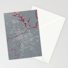 FanMap | NCAA Alabama #03 Stationery Cards