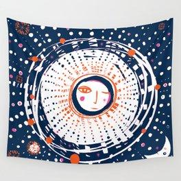Sol Azul Wall Tapestry