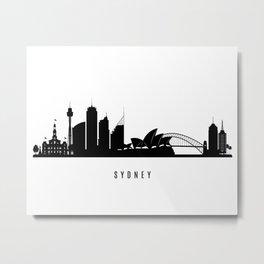 Sydney Art Print Metal Print