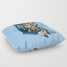 Tardis full Floor Pillow