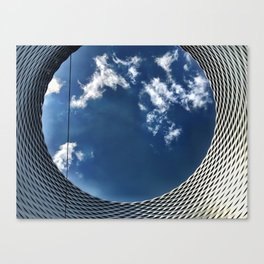 Looking Up at the World Canvas Print