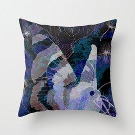 Dark Summer Throw Pillow