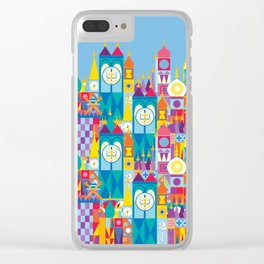 It's A Small World - Theme Park Inspired Clear iPhone Case